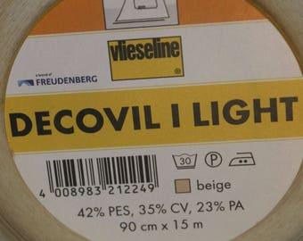 Vilene – Decovil I Light fusible heavyweight interlining Half Metre