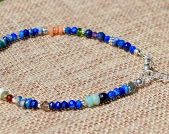 Lapis Lazuli and Mixed Gemstone Bracelets- Energy Bracelet~ 2