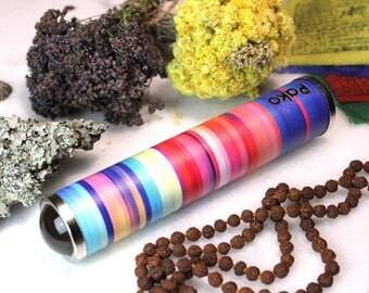 Teleidoscope. Fractal and Mandala explorer. Kaleidoscope. Psycodelic art. Personalized gift. Handmade gift. Stripes. St. Patrick's gift