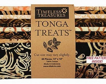 TONGA TREAT SQUARES from TIMELESS TREASURES MADRID