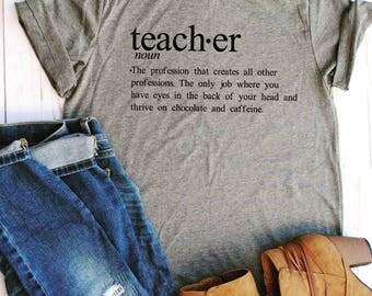 Teacher shirt/teacher gifts/gifts for teachers/teacher appreciation/teacher style/teacher tees/teacher shirts/teacher/teacher christmas gift