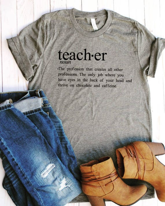 Cute teacher tee