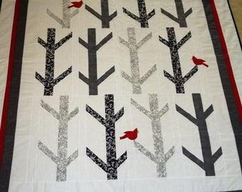 White Birch Quilt
