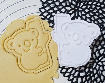Koala Cookie Cutter and Stamp