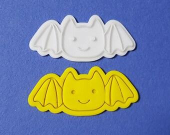 Cute Bat Cookie Cutter and Stamp
