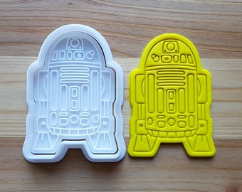 R2D2 Cookie Cutter and Stamp