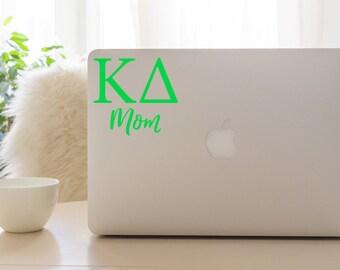 Kappa Delta Mom Decal, KD Sticker, Sorority Gift