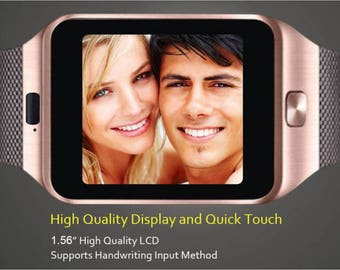 Bluetooth Smart Watch with 3D Accelerometer  Pedometer  Sleep Monitor & Anti-lost Silver Black