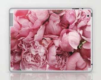 Pink Flower iPad Skin, Pink Flower Bouquet iPad Mini Skin, Blush Pink iPad Decal, Pink Floral iPad Skin, Pink Flower Petals iPad Sticker