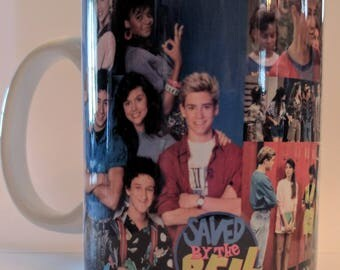 Saved By the Bell fan mug/Zach Morris/Zach and Kelley