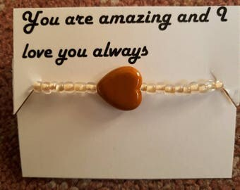 Love Appreciation Bracelet and Poem
