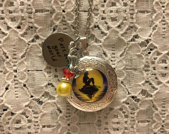 Little Mermaid Charm Locket/Little Mermaid Pendant/Little Mermaid Jewelry/Little Mermaid/Little Mermaid Necklace/Lockets/Ariel Locket