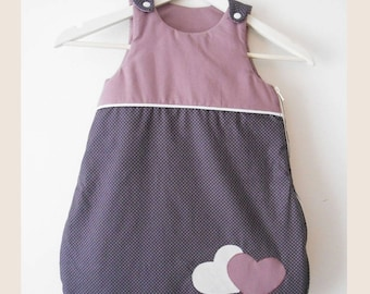 sleeping bag hearts for girls to order