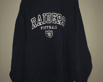 Los angeles raiders crewneck sweater reebok xl