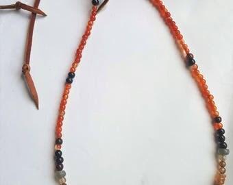 """Gemstone """"Desert Dweller"""" Necklace"""