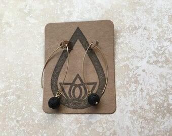 Hook Lava Diffuser Earrings