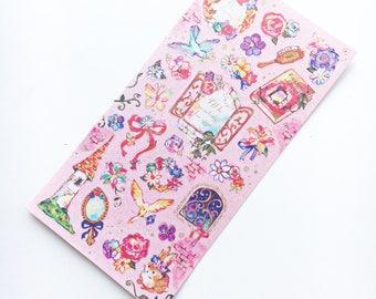 Rapunzel Pluie Douce Sticker Sheet