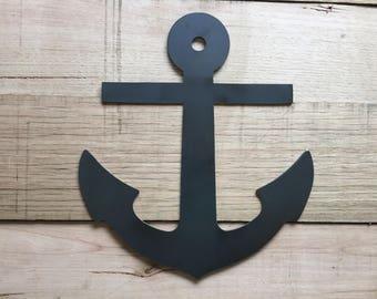 A ship's anchor