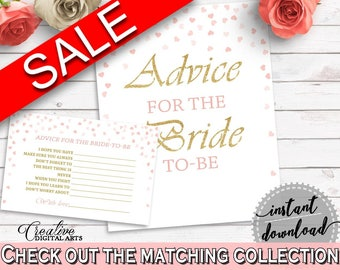 Advice Cards Bridal Shower Advice Cards Pink And Gold Bridal Shower Advice Cards Bridal Shower Pink And Gold Advice Cards Pink Gold - XZCNH