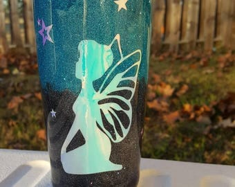 20 oz fairy stainless steel tumbler