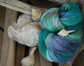 Hand Dyed Sock Yarn - NEED is an Understatement