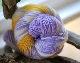 Hand Dyed Sock Yarn - I've Seen you before