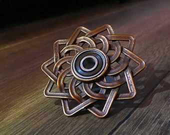 Celtic Lotus Fidget hand spinner - Steel