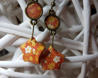 Earrings ORIGAMI Etoile