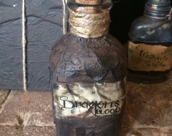 Game of Thrones inspired Dragons blood potion bottle