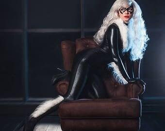 Black Cat - Marvel Comics Spider-Man - Cosplay Print