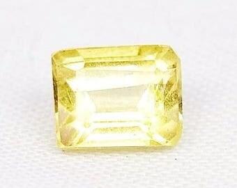 Heliodor - Gold Beryll Heliodor - 6,10 mm*4,80 mm*3,90 mm - 0,9600 ct