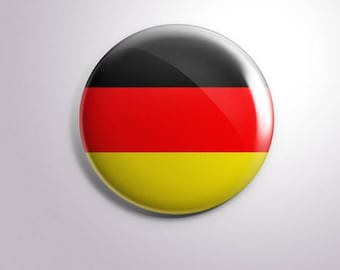 GERMANY FLAG - pins / buttons / magnets