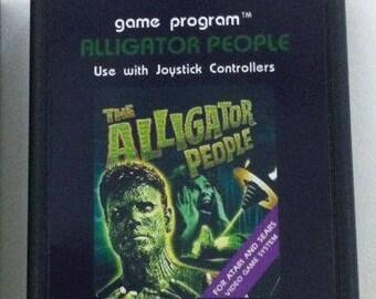 Atari 2600/7800 Video Game Cartridges - Alligator People