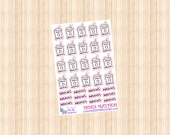 Waxing // Diary // Planner // Stickers