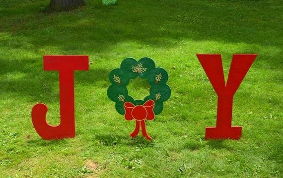 15 days until christmas and lets look at outdoor holiday for Large outdoor christmas signs