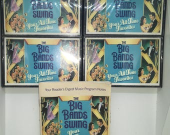 The Big Bands Swing Your All Time Favorites Complete Set Tapes 1-4