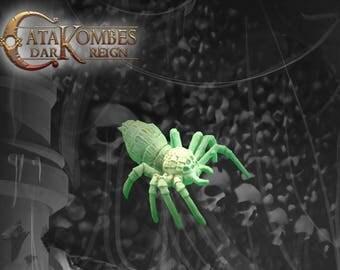 Miniature Giant spider