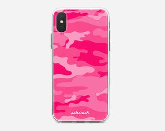 Camo Pink iPhone Case 6 / 6s / 7 / 8 / PLUS / X