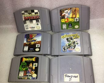 Nintendo N64 Various Games