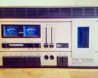 Tandberg TCD 310 Mk II Vintage Norwegian 1970s Stereo Cassette Deck
