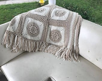 Amazing Vintage Afghan from Grammy