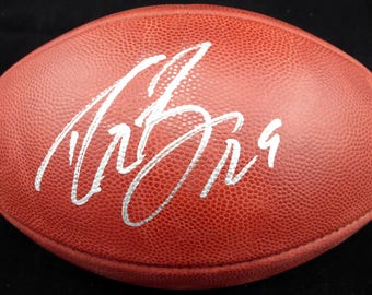 Drew Brees New Orleans Saints Autographed Signed Official NFL Leather Football BECKETT