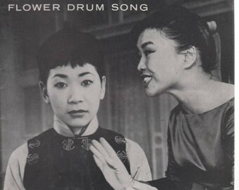 """Summer Sale St.James Theatre Playbill """"FLOWER DRUM SONG' May 1959 Novel by C.Y. Lee"""
