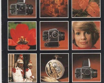 Summer Sale HASSELBLAD Catalog Cameras, Lens and accessories 1980