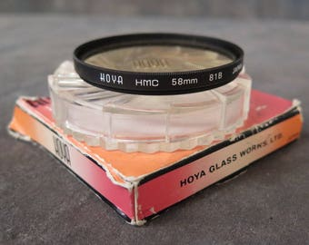 HOYA 58mm 81B Warming Filter - Excellent Condition