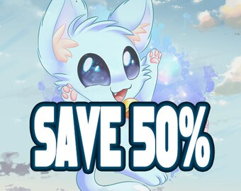 Discount code of 50% for purchases of 100 USD or more