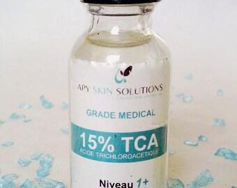 TCA PEEL /12 /15 /20 /25% / Peeling chimique visage / pour rides / cicatrices / melasma / anti-âge/ taches d'acné