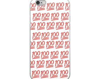 Funny Emoji iPhone Case - Iphone 7 case - Iphone 8 case - Iphone 7 plus case - Iphone 6 case - Iphone X case