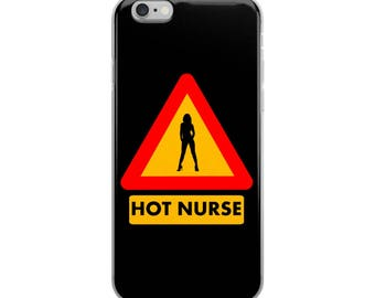 Hot Nurse iPhone Case - Iphone 7 case - Iphone 8 case - Iphone 7 plus case - Iphone 6 case - Iphone X case