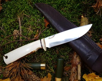 Fishing knife - Hunting Knife - Hand made Knife - Camping Knife - Survival knife - Bushcraft knife - Fishing - Hunting - Marco knives